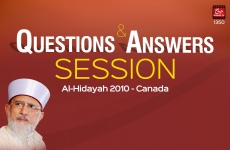 Questions & Answers Session-by-Shaykh-ul-Islam Dr Muhammad Tahir-ul-Qadri